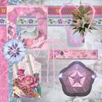 Floral Scrapbooking Kit