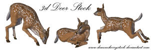 Deer PNG Stock by DemoncherryStock