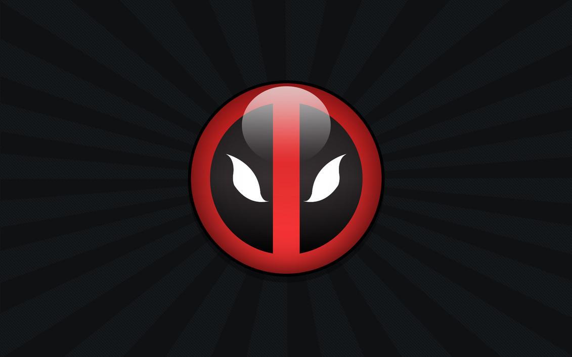 Deadpool Logo 01 Wallpaper By Namelessv1