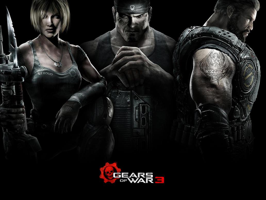 Gears of War 3 Standard by Namelessv1