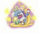 Rapunzel Pokemon team by Paigepig13