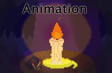 8 Bit Cave Animation