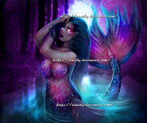Shy Mermaid [GIF:Click]