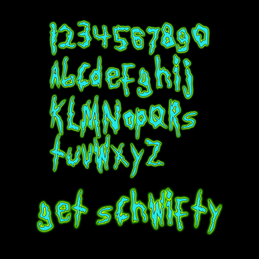 Get Schwifty A Rick And Morty Font By Jonizaak On Deviantart