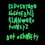 Get Schwifty: A Rick and Morty font