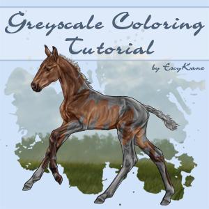 Greyscale Coloring Tutorial by EscyKane