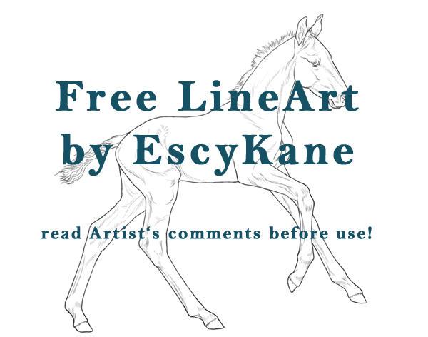 TIMELESS FREE LINEART by EscyKane