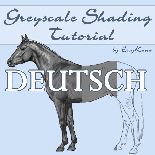 Greyscale Shading Tutorial GER by EscyKane