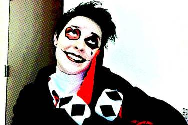 Punk Harley Quinn -Closet Cosplay- ANIMATED GIF