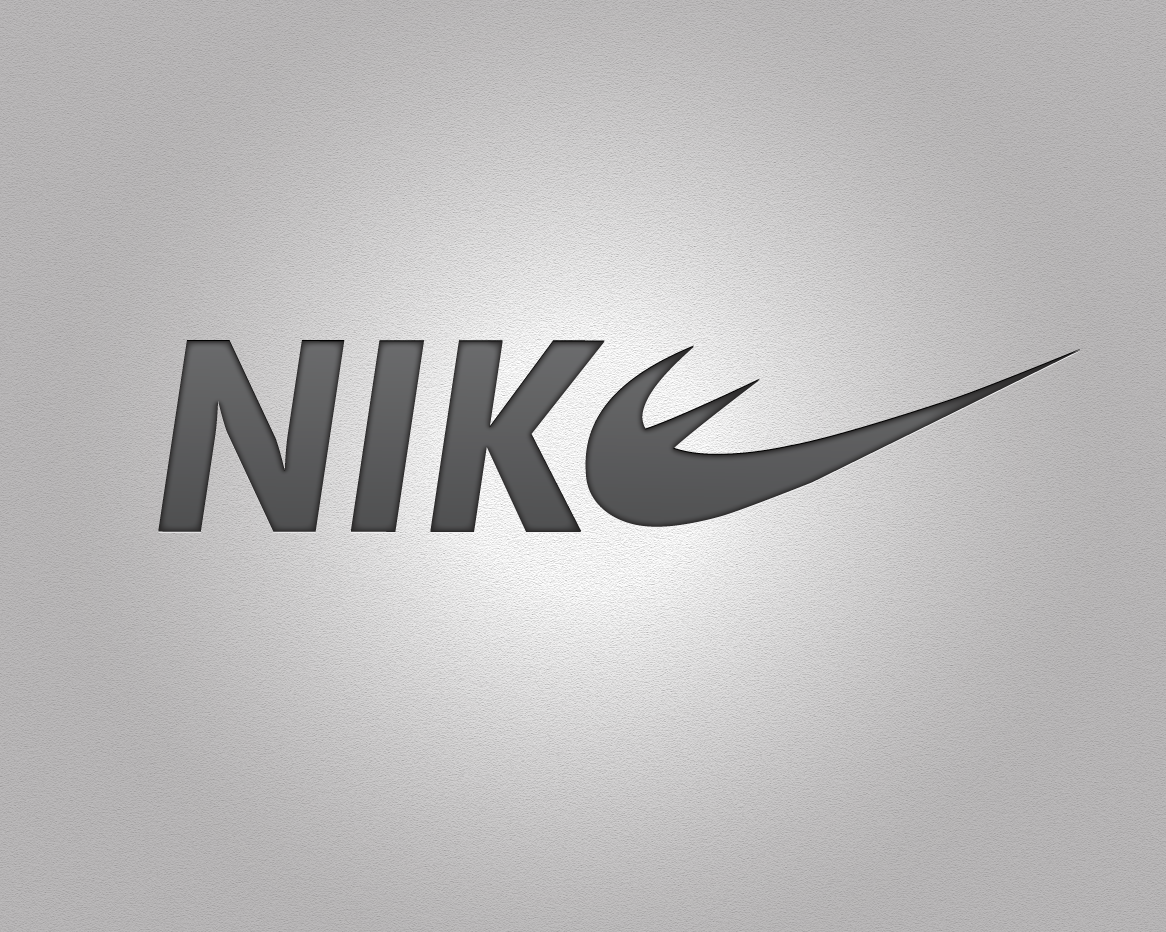 Nike Grey And Orange Sport Shoes Size