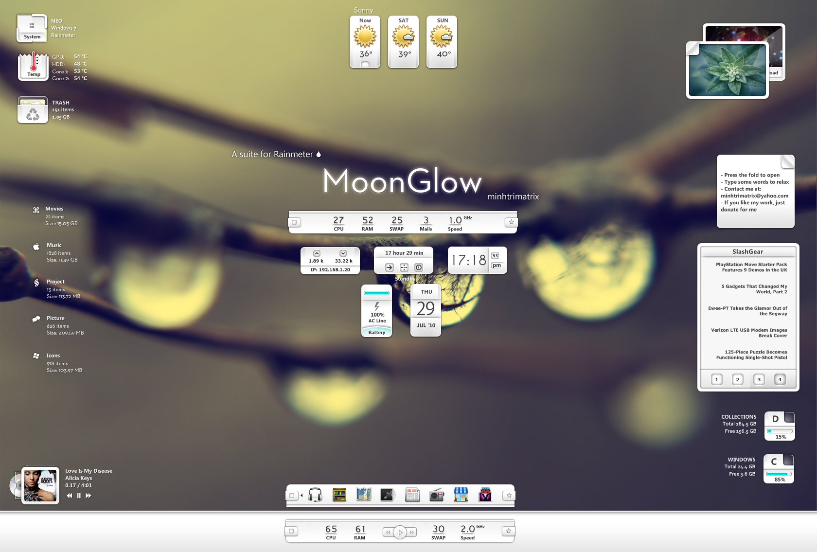 MoonGlow by minhtrimatrix