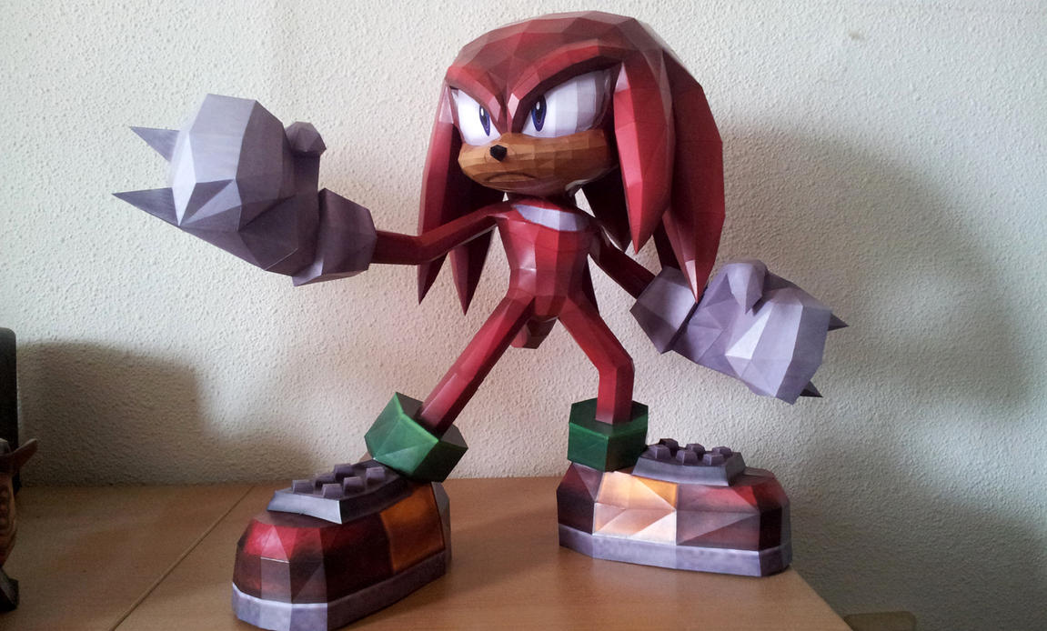 Knuckles the Echidna - a by Destro2k