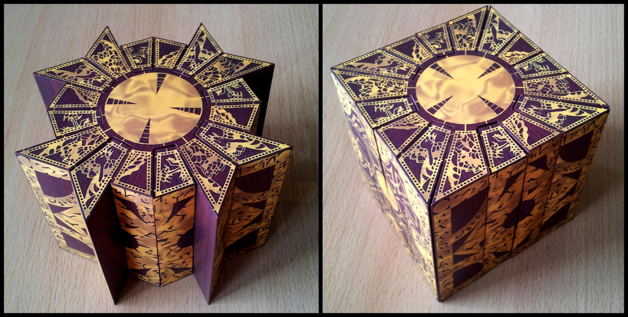 Hellraiser Lemarchand Box Papercraft Lament Configuration