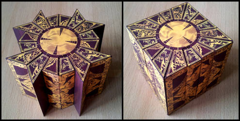 Hellraiser Lemarchand Puzzle Box by Destro2k