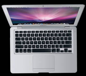 Macbook Air Top View - PSD by Zorgo