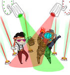 BIOSHOCK 2 RAVE PARTY