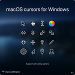 macOS cursors for Windows