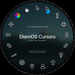 DiamOS cursors for Windows