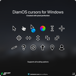 DiamOS cursors for Windows