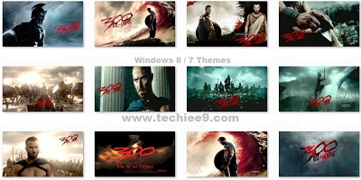300 Rise Of Empire 2014 Movie Windows Theme by Techiee9