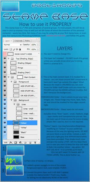 STAMP: PSD BASE + Usage Guide