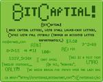 FONT: BitCapital