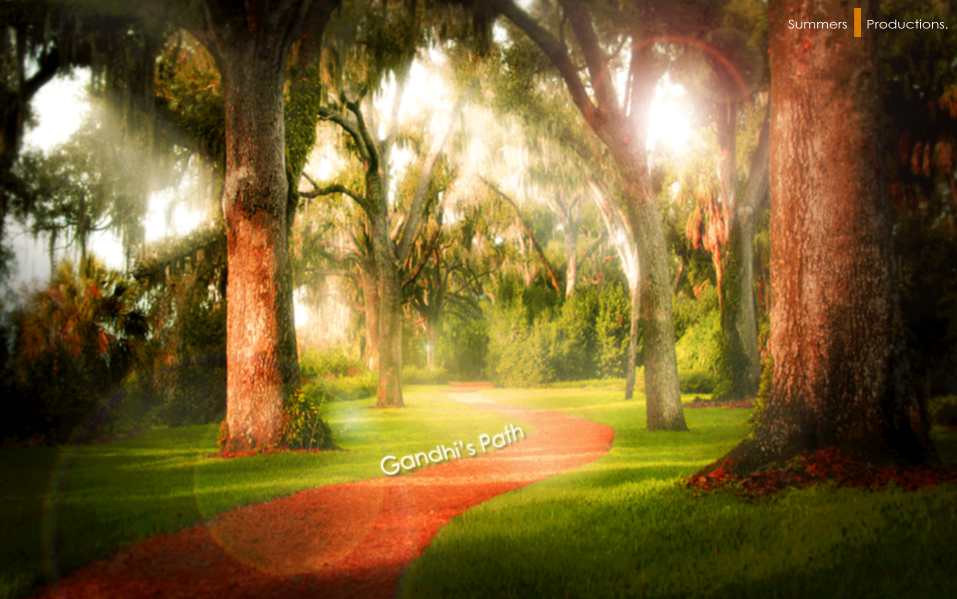 -Gandhi's Path- by Hemingway81