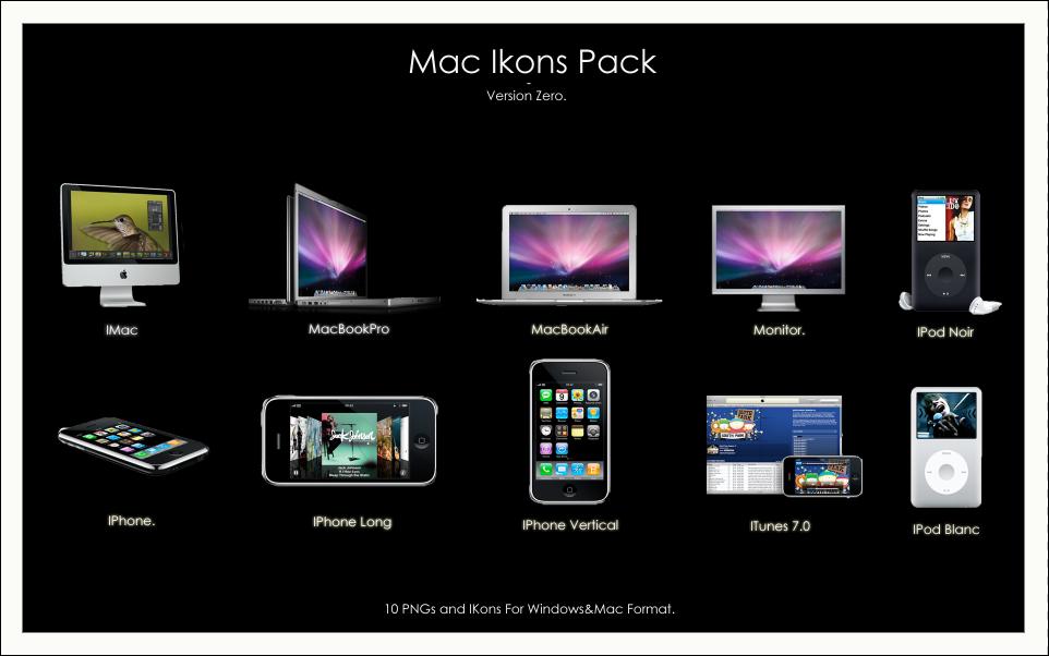 -Mac Ikons Pack, Version Zero- by Hemingway81