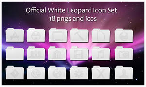 -Official White Leo Icons-