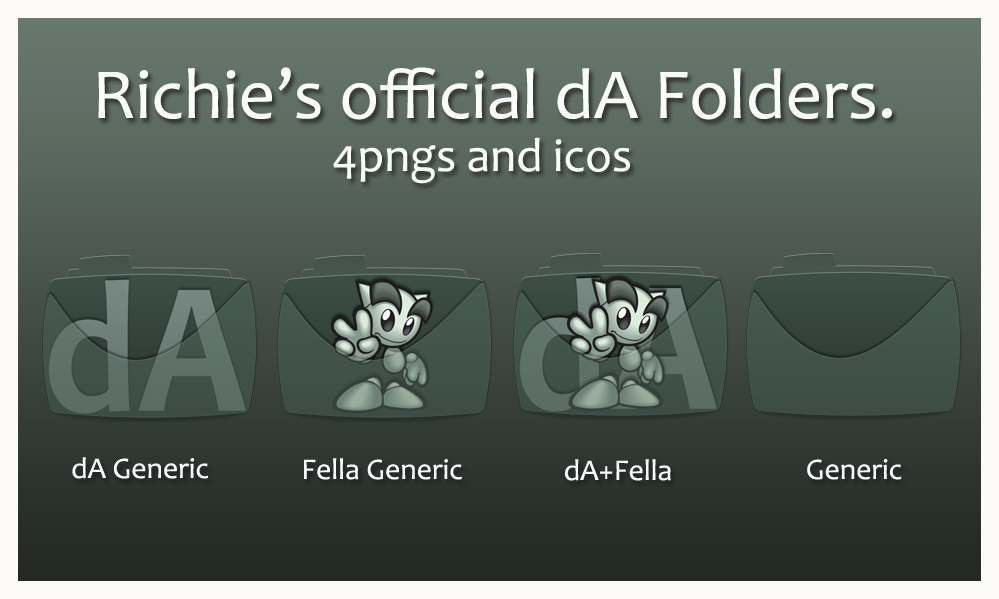Richie's official dA Folders by Hemingway81