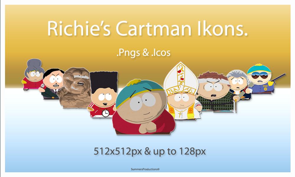 -Richie's Cartman Ikons- by Hemingway81