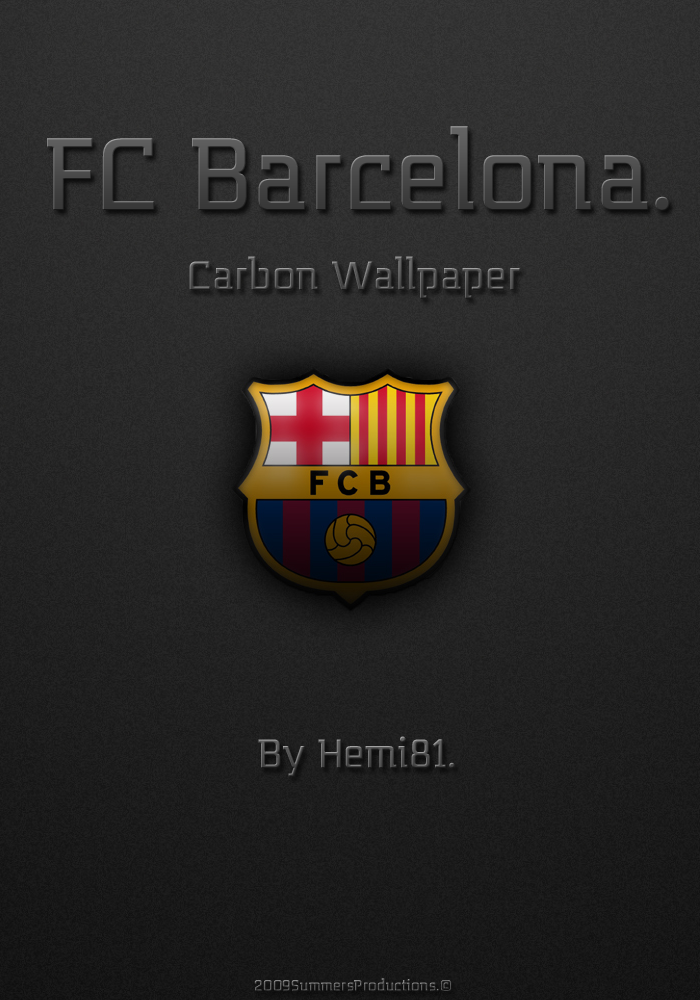fc barcelona wallpapers. FC Barcelona Carbon Wallpaper
