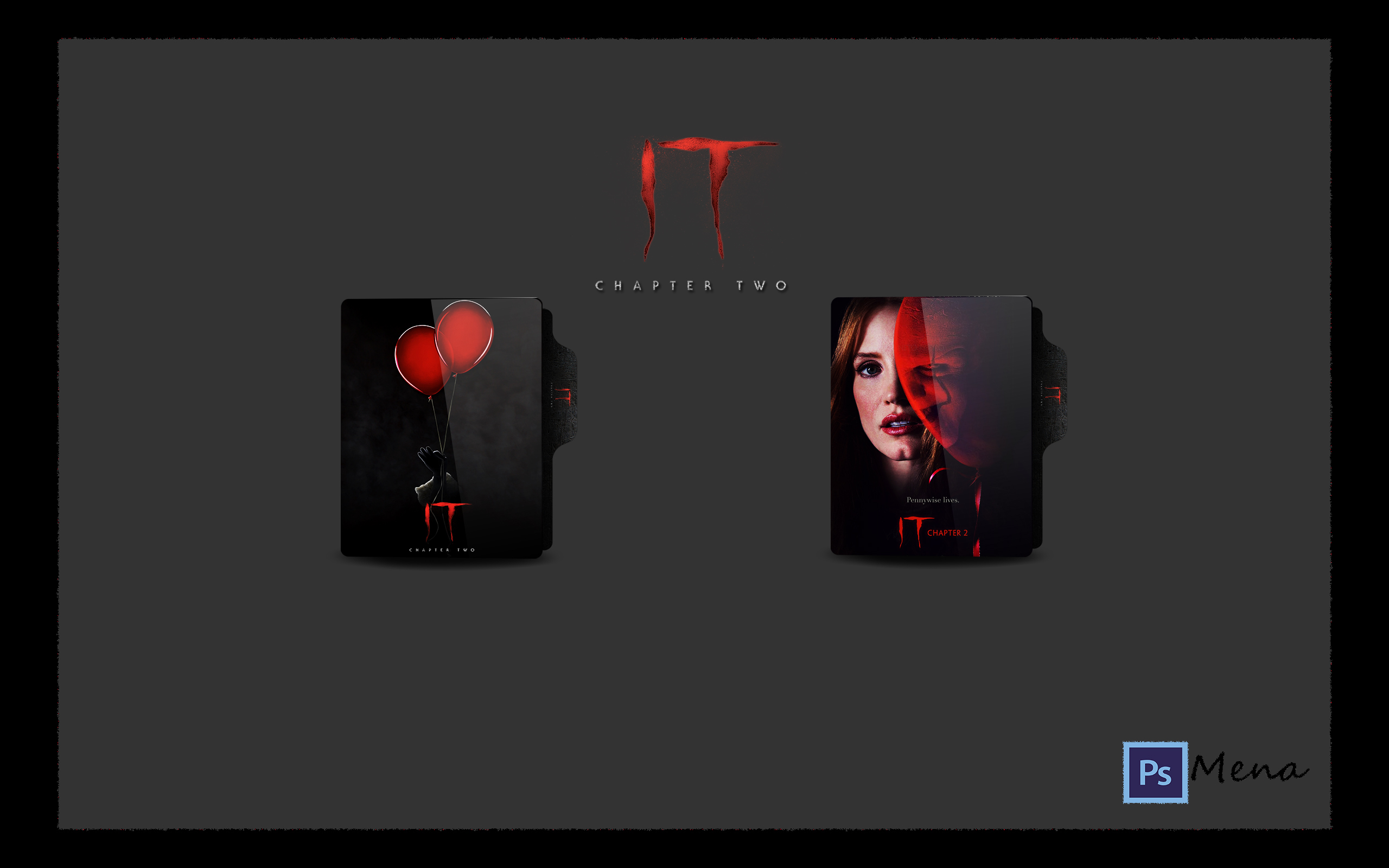 It Chapter Two 2019 Folder Icon By Mena7 On Deviantart