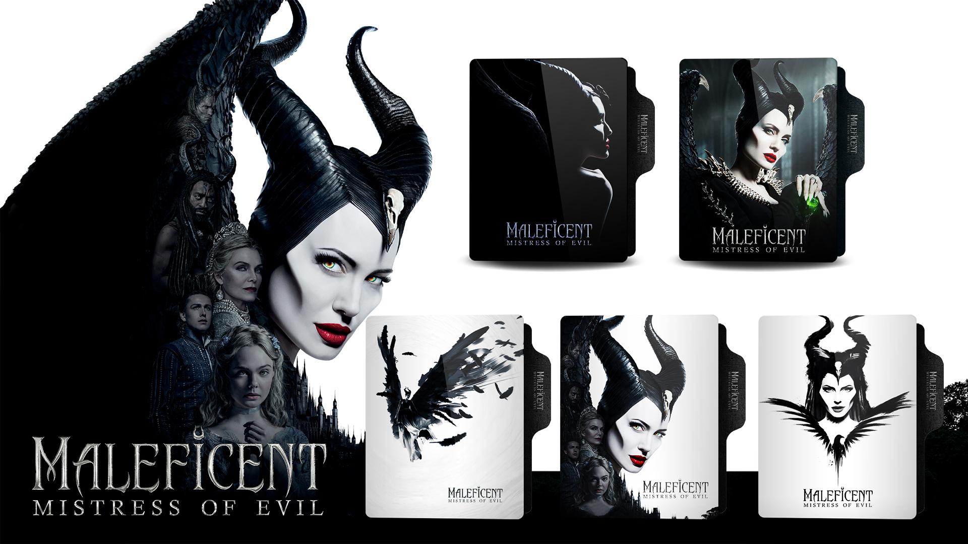 Maleficent Mistress Of Evil 2019 Folder Icon By Mena7 On Deviantart