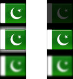 Pakistan flag ORB by MBOSSG