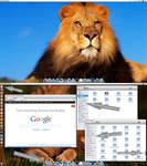 Mac-OS-Lion V4 theme pack for Ubuntu 13.04