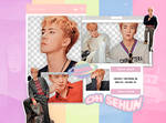 . SeHun (EXO) | pack png ~ #superELLE magazine