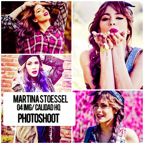 Photopack de Tini Stoessel Book by TiniCamieditions
