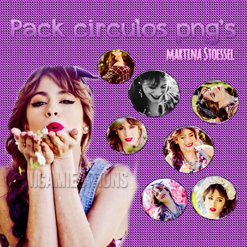 +02 Circulos png's de Martina Stoessel by TiniCamieditions