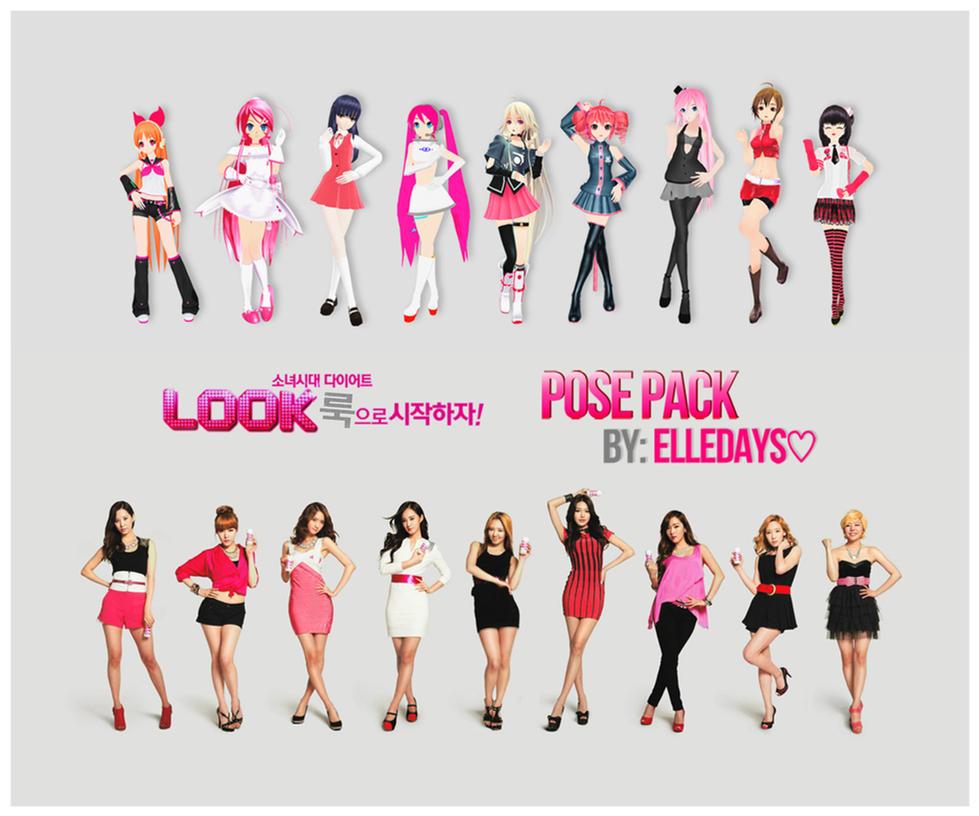 Q!Girls - Korea Yakult: Diet Look. by ElleDays