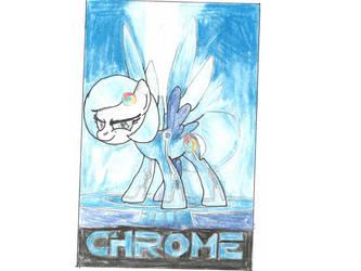 Chrome tron pony