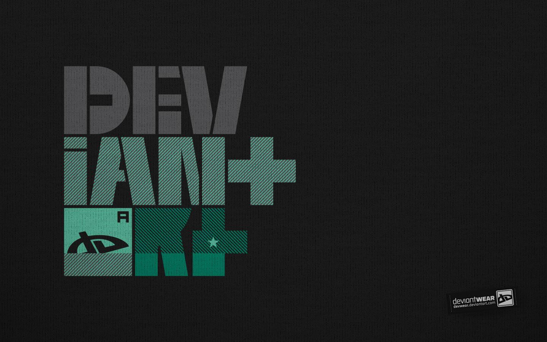 DEV-Black_Wallpaper by deviantARTGear