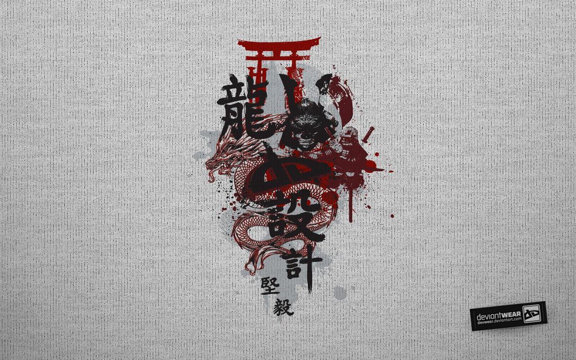 Samurai_Wallpaper by deviantARTGear