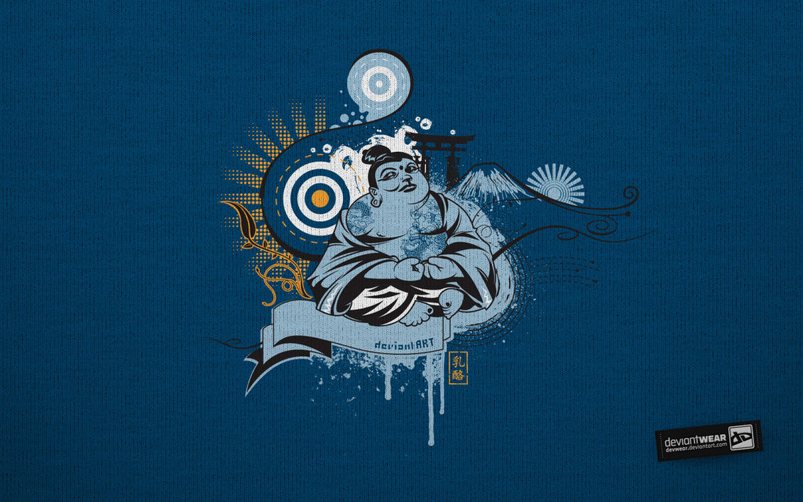 Zen Buddha_Wallpaper by deviantARTGear