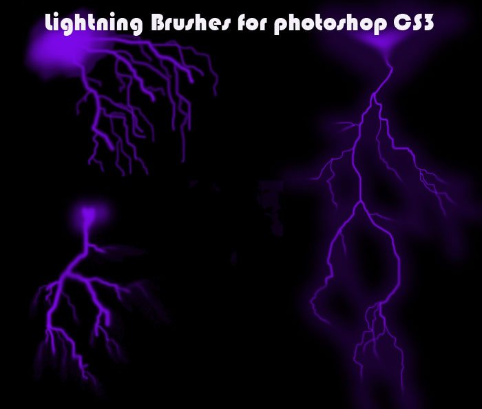 Lightning Brushes for CS3