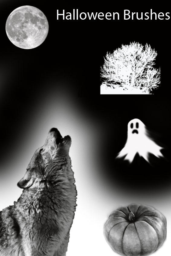 Halloween brushes for CS3 by K-L-R
