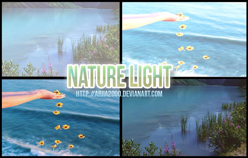 Nature Light Psd || 01 by Ariia2000