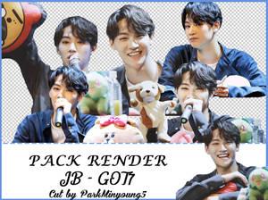 [PACK RENDER #01] [7 Png Pack] JB - GOT7