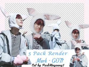 [PACK RENDER #02] [5 Png Pack] MARK - GOT7