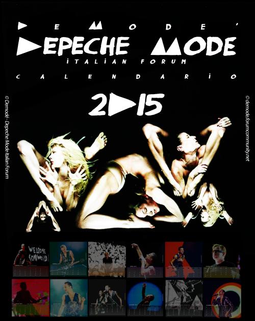 Depeche Mode Calendario 2015 by Mary-Aisha